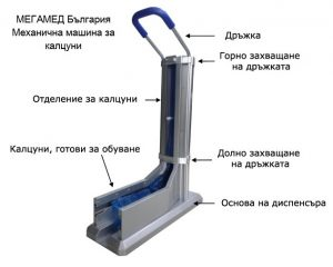 Механична машина за калцуни