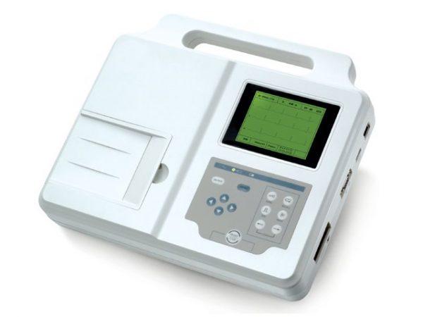 Електрокардиограф, триканален преносим ЕКГ апарат